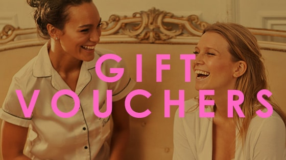 Ladies smiling about gift vouchers