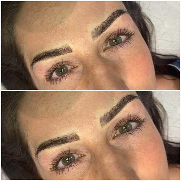 Microblading example by Wini Ough