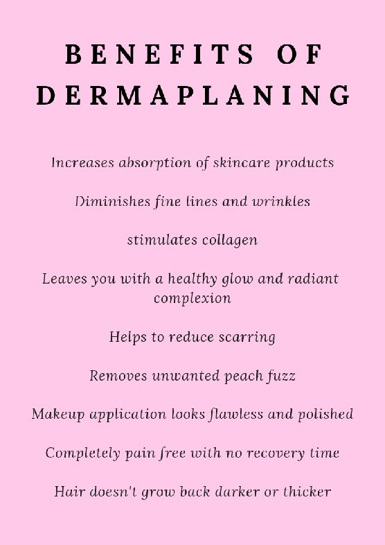 Dermaplaning What We Do