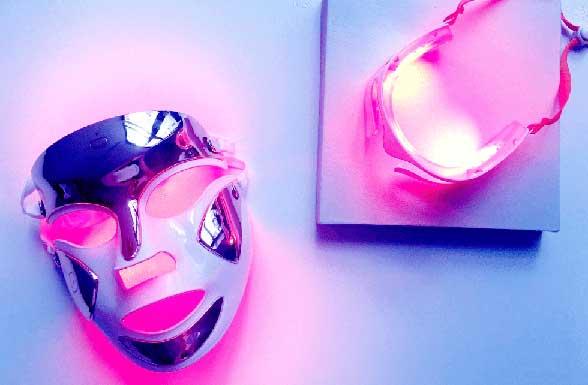 LED Light Therapy Purple Light Masks