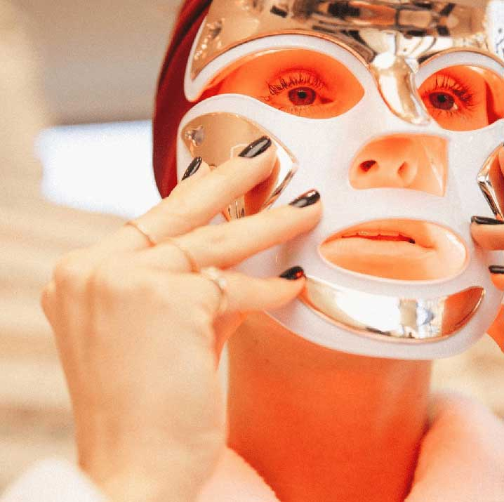 LED Light Therapy Red Light Mask